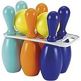 Smoby Ecoiffier - Juego de bolos (6 conos, 2 bolas), varios colores