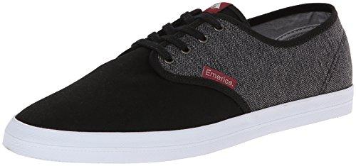 Emerica THE WINO 6101000088 Herren Sneaker Black/Grey/Red
