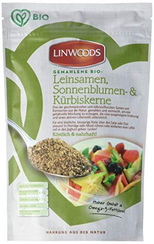 Linwoods Gemahlener Leinsamen mit gemahlenen Sonnenblumen- und Kürbiskernen, 1er Pack (1 x 200 g) -