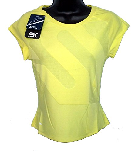 umbro-sx-womens-bodymap-tee-size-uk-14-color-yellow