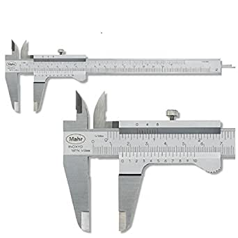 MAHR 16 FN Messschieber 150 mm mit Feststellschraube