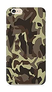 Amez designer printed 3d premium high quality back case cover for Apple iPhone 6s Plus (Military lines light surface)