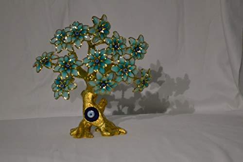 My Aashis Böses Auge Schmetterling Baumschmuck zum Schutz und bringt Glücksbaum See The pics Same as Pics