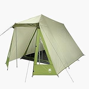 418tCn3iLmL. SS300  - 10T Outdoor Equipment Waterproof Kuranda Unisex Outdoor Frame Tent available in Grey - 3 Persons