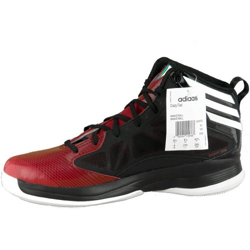 adidas - Crazy Fast, Sneaker Uomo Black/Red