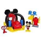 La Casa De Mickey Mouse - Set de juego, túnel de lavado y gasolinera (Mattel BDJ81)