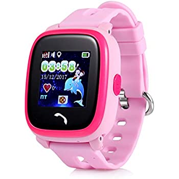 JBCUG GPS Teléfono Reloj Resistente al Agua sin función de ...