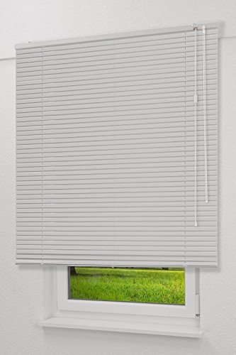 basic shades Alujalousie 25mm in Reinweiß in den Maßen (B x H) 160cm * 175cm