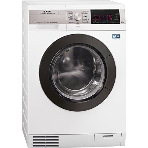 AEG l9ws99öko autonome Belastung Bevor A weiß–Waschmaschinen mit Wäsche (Belastung vor, autonome, weiß, links, drehbar, Berühren, LED)