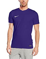 Nike Ss Park Vi Jsy - Camiseta manga corta para hombre, color morado, talla L