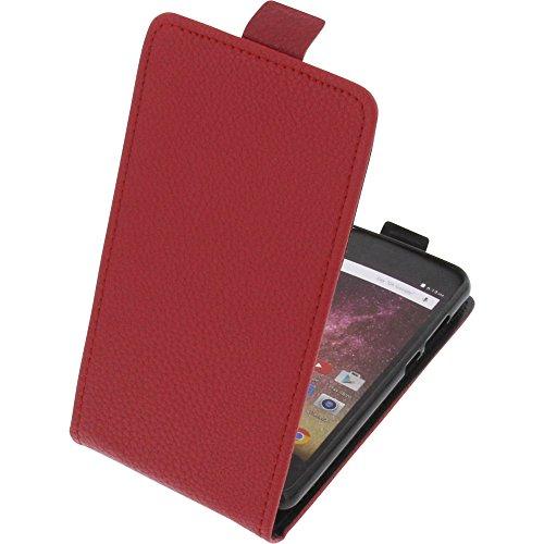 foto-kontor Tasche für Archos Core 50p Smartphone Flipstyle Schutz Hülle rot