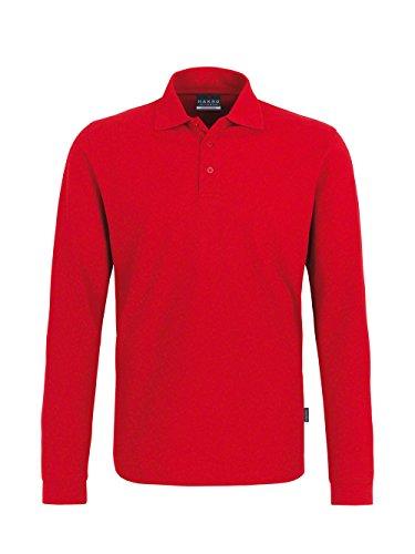 Longsleeve-Poloshirt Classic Rot