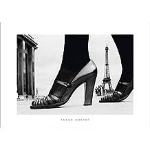 Póster 50x 70cm zapatos y torre Eiffel, Paris, 1974/Shoes and Eiffel Tower, Paris, 1974/Schuhe und Eiffelturm, Paris, 1974Frank Horvat