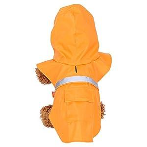 Nixi Koo® pur Manteau Chien Chiot Chat Animal Rain Coat Veste Manteau pour chien imperméable Veste imperméable Manteau de pluie Réflexion de vêtements pour chien XS à XXL pour chiots et pour grand chien