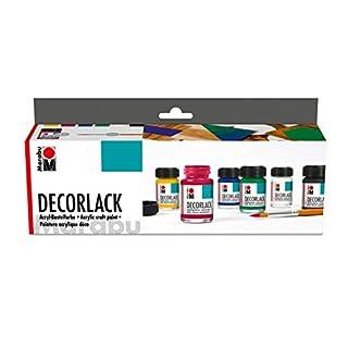 Marabu 113000087 - Decorlack Starter Set