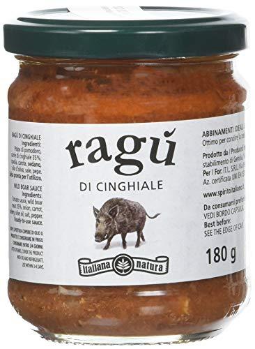 Italiana Natura Ragù di Cinghiale - 6 Confezioni da 180 G