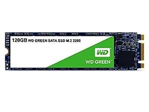 Western Digital Green 120GB M.2 120Go M.2 Série ATA III - Disques SSD (120 Go, M.2, Série ATA III, 545 Mo/s, 6 Gbit/s)