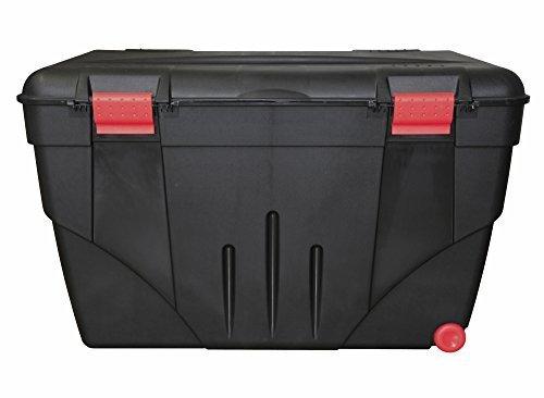Ondis24 riesige Aufbewahrungsbox Lagerbox Transportbox Malle 200 mit Rollen, stabiler Deckel abschließbar