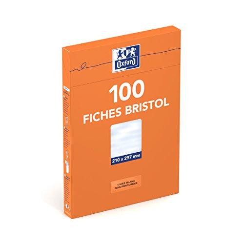 oxford-etui-de-100-fiches-bristol-210g-blanc-uni-din-a4