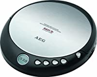 AEG CDP 4226 tragbarer CD-Player (CD-R/-RW, LCD-Di