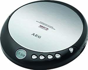 AEG CDP 4226 tragbarer CD-Player (CD-R/-RW, LCD-Display, 3