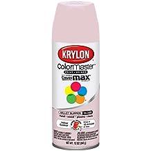 Krylon 268309 Indoor-Outdoor Aerosol Paint 12 Onzas 6-Pkg-Satin Ballet Slipper