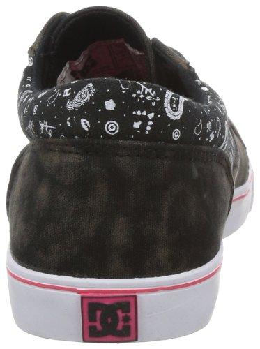DC Shoes Bristol LE D0303214, Sneaker donna Nero (Schwarz (BK/BK/BKPT))