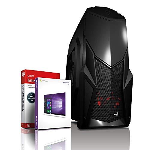 Intel Core i7 Monster Gamer mit 3 Jahren Garantie! | Intel i7 2600K, 8 Threads, 3.8 GHz | 16GB | 512GB SSD + 4 TB | Geforce GTX 1650 4 GB DDR5 | USB 3.0 | DVD±RW | WLAN | Win10 | MS Office | #6125