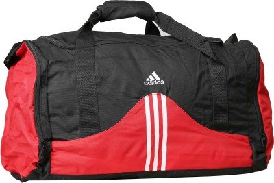 Adidas Red and Black Polyester Duffle Bag  available at amazon for Rs.1099