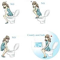 Branded SLB Works New 1X(10 pcs Pocket Size Healthful Safe Disposable Paper Toilet Seat Covers Fo C3L2