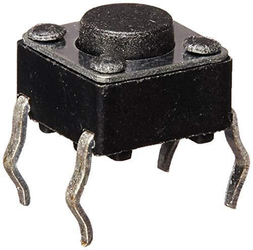 COMEYOU 4 Pines Dip PCB Interruptores de botón táctiles táctiles momentáneos 6x6x4.5mm...