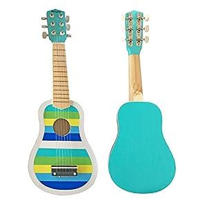 MAGNI-Guitarra de Rayas, 2709, Azul
