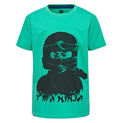 Lego Wear Jungen T-Shirt Lego Ninjago M, Grün (Green 858), 146