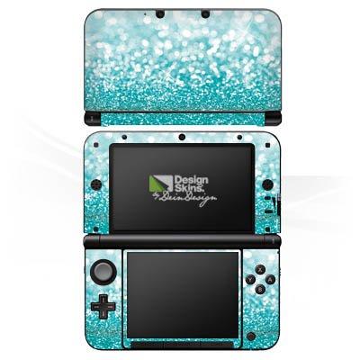 DeinDesign Nintendo 3 DS XL Case Skin Sticker aus Vinyl-Folie Aufkleber Glitzer Glanz Glitter