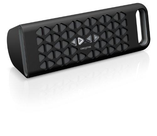Creative Labs MF8180 - Altavoz portátil (Bluetooth, 3.5 mm), negro