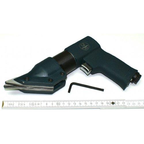 Druckluft Blechknabber / Blechschere Knabber Nibbler für leichte Schneidarbeiten an dünnen Blechen, Pistolen-Form