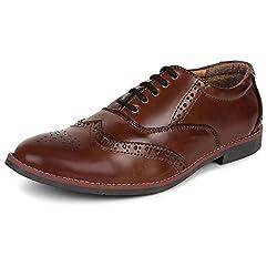 Adreno Mens Brogue Formal Shoes [ADRBROGUE] - 7 UK/IND