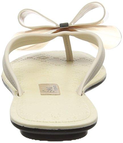 Grendha - Sense Bow Thong, Scarpe spuntate Donna Off-White (Vanilla)