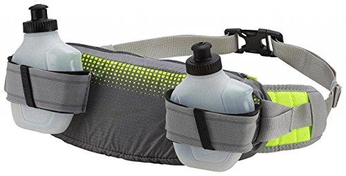 Nike 9038/97 Storm 2.0 2-Bottle Waistpack - 030 silver/volt, Größe INT:M