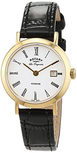 Rotary Damen - Armbanduhr Windsor Analog Quarz LS90156/01