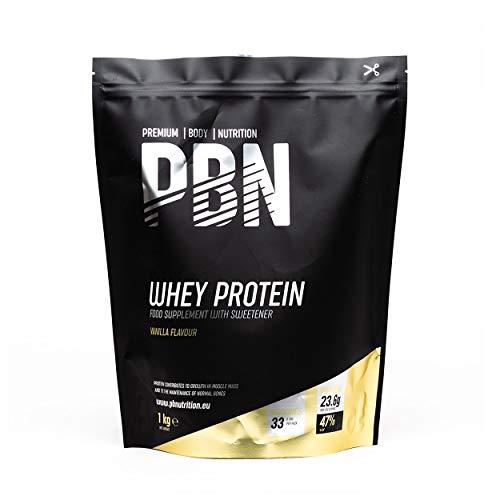 PBN Whey Protein / Molkeeiweißpulver, 1kg Vanille