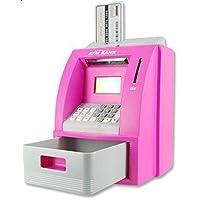لعبة حصالة نقود الكترونية صغيرة بتصميم ماكينة الصراف الالي