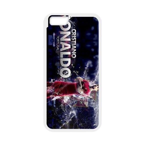 Cristiano Ronaldo coque iPhone 6 4.7 Inch Housse Blanc téléphone portable couverture de cas coque EBDXJKNBO16419