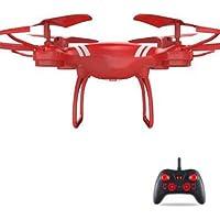 Hanbaili 6-Axis Gyro 4 canales Hobby RC Quadcopter sin cámara, Drone con modo sin cabeza para principiantes, fácil de controlar para niños