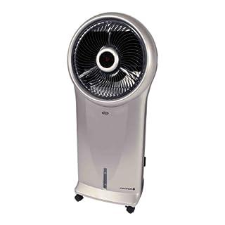 ARGO Polifemo Verdunstungskühler und Luftreiniger mit LED-Display, 110 W, Silber