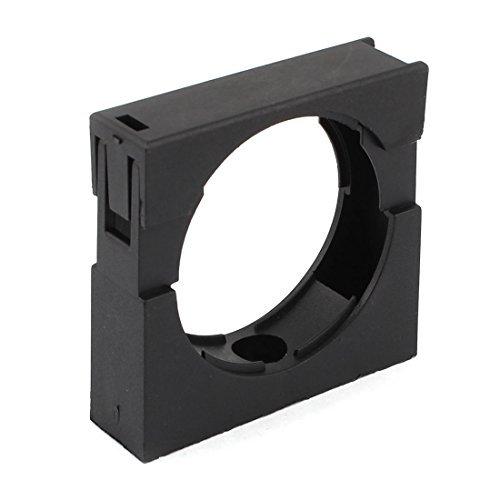 Plástico negro de montaje fijo abrazadera del soporte para AD54.5 corrugado Conduit