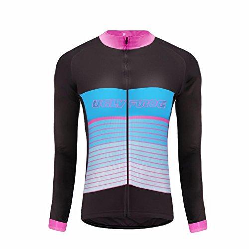 Uglyfrog #59 2018 Colorful Bicycle Cycling thermal Jersey Long Sleeve Women Bike Winter with Fleece Triathlon Top