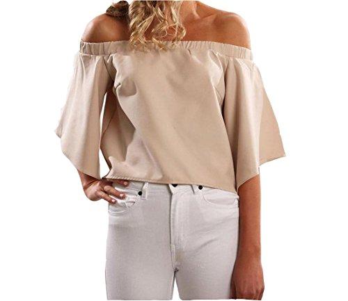 Tootlessly-Women Damen T-Shirt Gr. Small, aprikose -