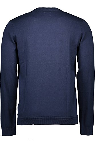 Lee Herren Pullover Crew Knit Blau