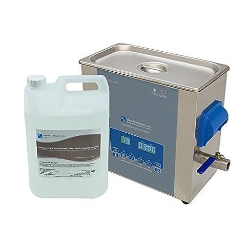 Ultrasonic Cleaner Kit 6 Litre machine parts & carburetors mechanics machinist